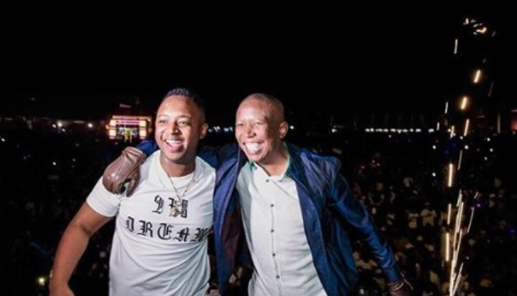 Malema and dj shimza