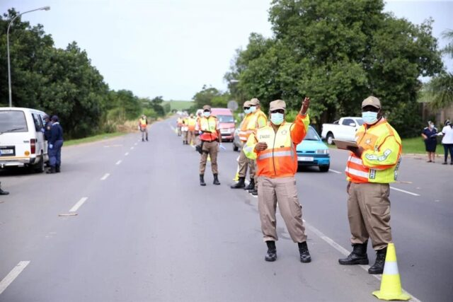 Two police officers killed by 'drunk' driver at Covid-19 roadblock