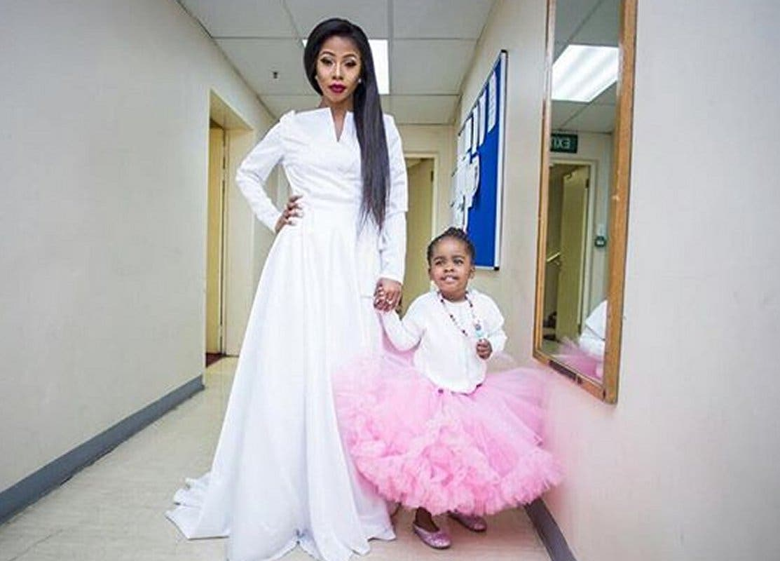 kelly khumalo and daughter