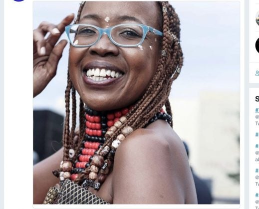 Ntsiki Mazwai critical of men harassing woman dressed in skin revealing clothes