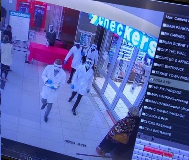 Robbers Posing As Covid-19 Health Workers Rob Checkers Of R200 000