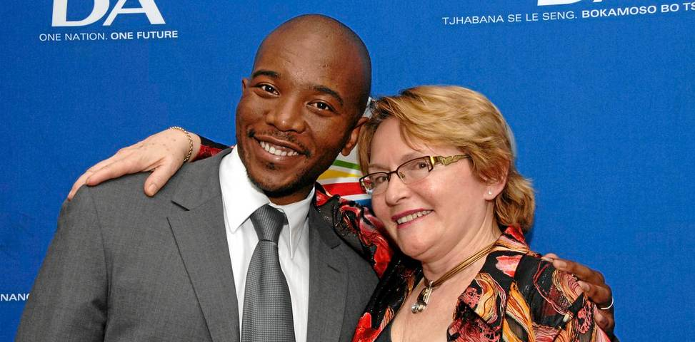maimane and zille1