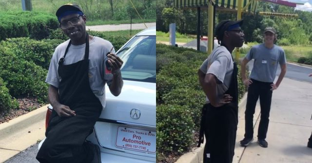 Generous customer surprises restaurant worker with a brand-new car