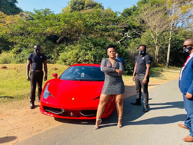 Zodwa Wabantu Forks Out A Whooping R240k For 12 Bodyguards