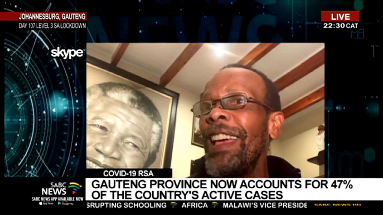 """""""Gauteng accounts for 47% of SA's COVID-19 current active cases"""""""