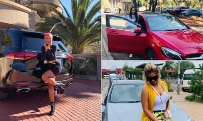 Girls with Mercs: SA inspired by ladies flexing hard with luxury whips
