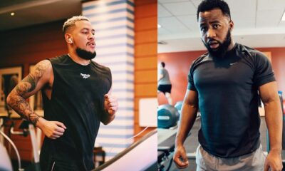 Is AKA training for the fight between him and Cassper Nyovest?
