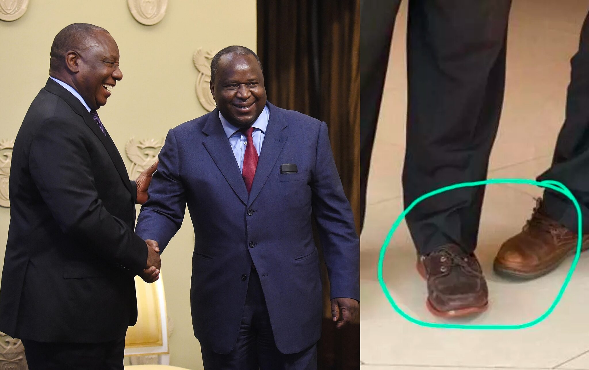 President Cyril Ramaphosa reprimands Minister Mboweni over tweets on Zambia
