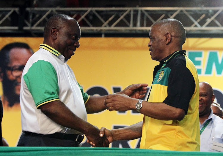Ramaphosa and Ace Magashule fight over decision to withdraw from International Criminal Court (ICC)