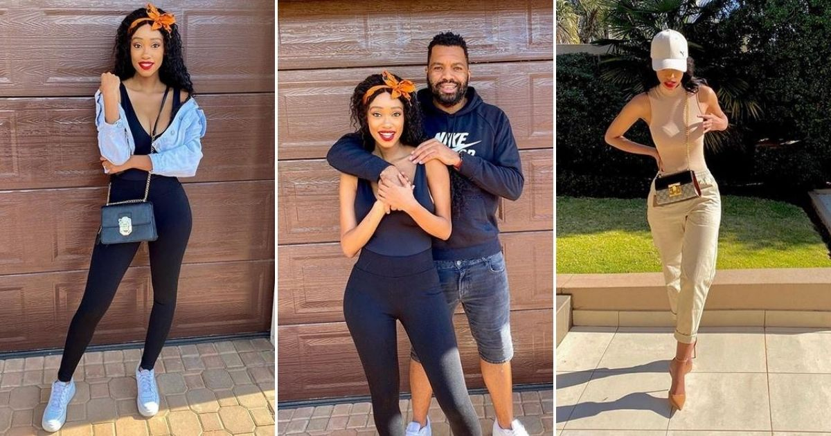 Itu Khune shows his wifey love after she posts a stunning selfie