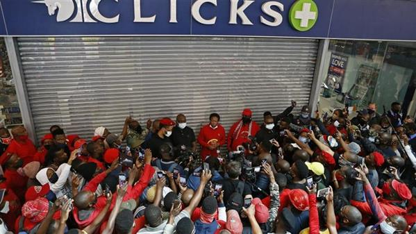 EFF and Clicks management to meet in wake of protests over racist ad