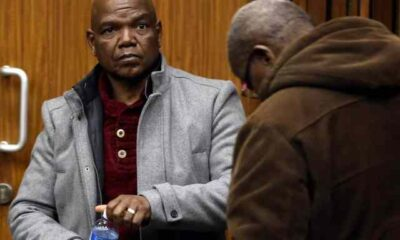 Ex-crime intelligence boss Richard Mdluli spends first night in jail