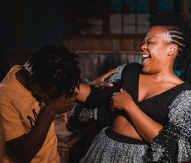 "Zodwa ready with the chicken : ""Step One of My Witchcraft"""