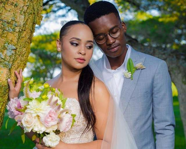 Hungani Ndlovu's wife is old enough to be his sister, See their age gap