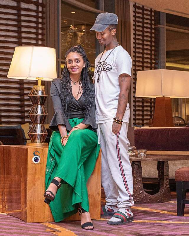 Emtee's wife Nicole Kendall Chinsamy leaks video of the rapper allegedly high on drugs