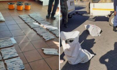 Zimbabwean arrested in South Africa over explosives!