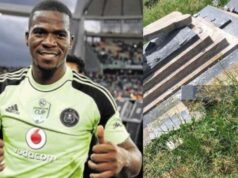 Senzo Meyiwa's family reacts to the late star's tombstone being destroyed