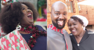 """""""The Queen's"""" Thembsie Matu is made super proud by her son's degree"""