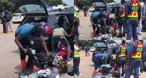 Video of police searching for alcohol in travellers' personal bags angers South Africans