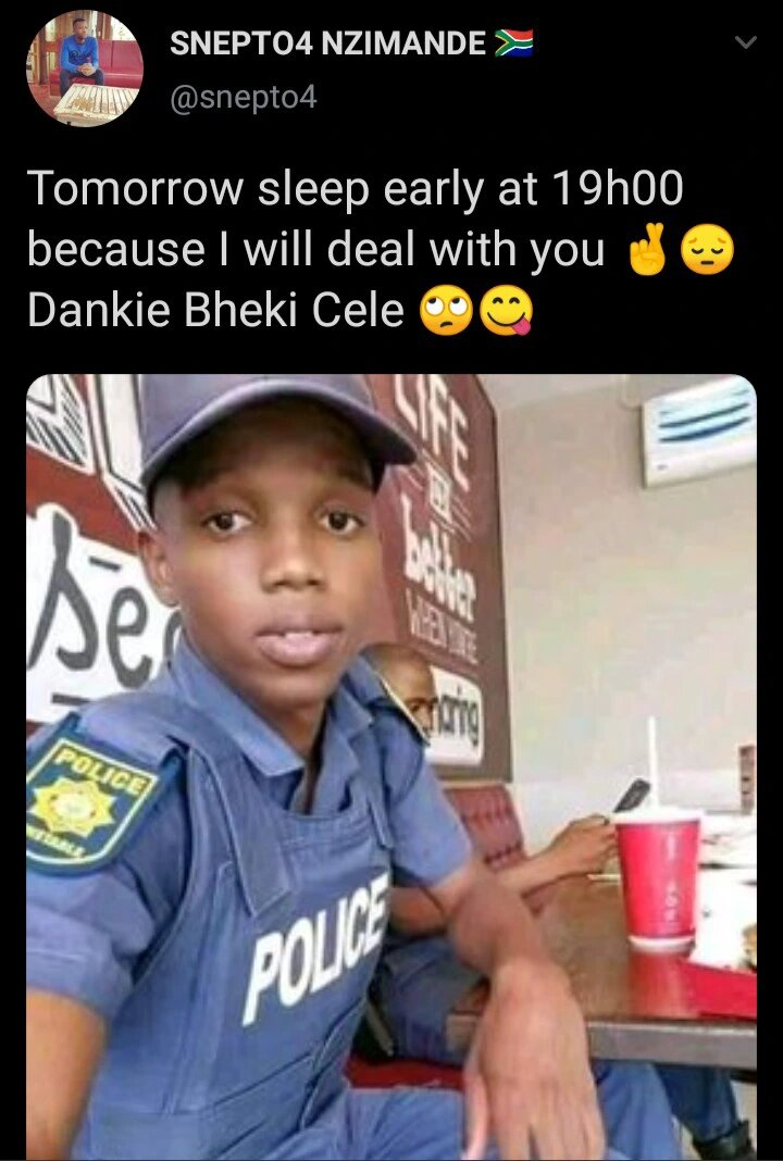 Here is why this police officer was trending!