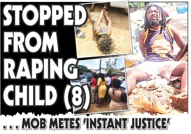 Man Caught Trying to RAPE an 8 year-old