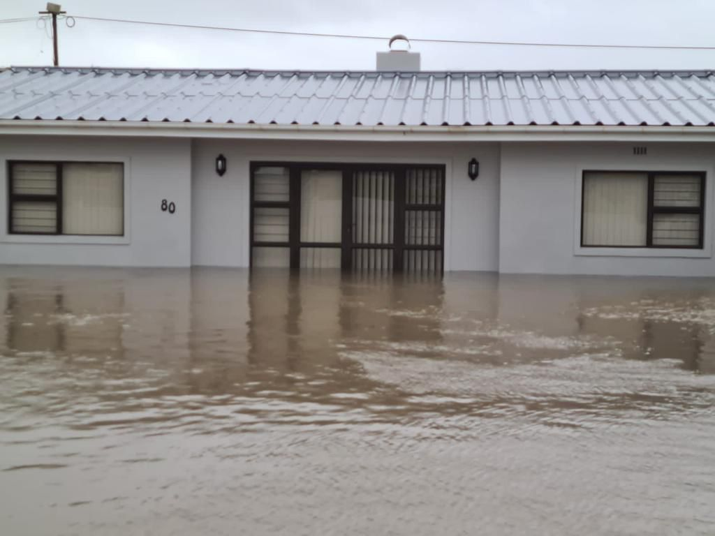 Western Cape roads flooded as more rain expected