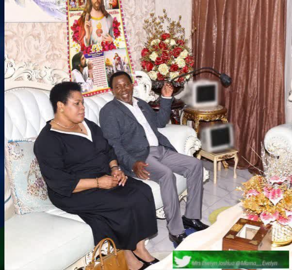TB Joshua's Wife Evelyn Appointed SCOAN's New Leader