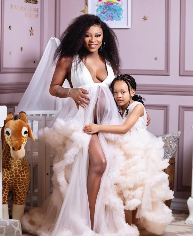 How DJ Zinhle gave birth and baby's gender